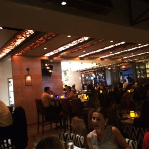 The interior of Red O SaMo is casual and relaxed.