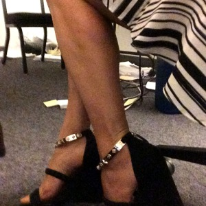 Office attire. Sometimes it just feels good to dress up for work.