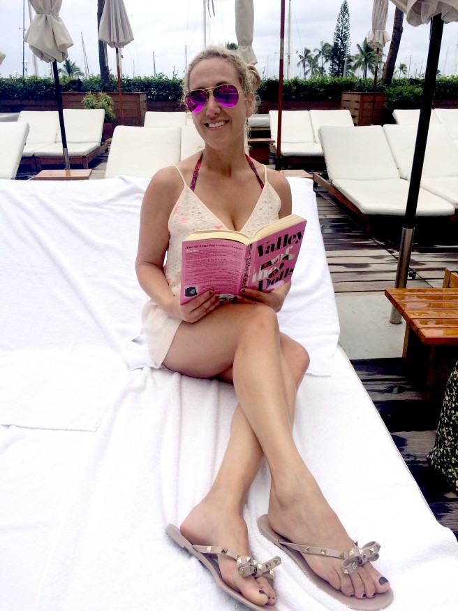 Nothing as great as reading poolside with no time limits, agendas to attend,  or places to be.