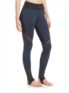 I own these Michi jogging pants. I love them! They are light weight and feel like silk. They wear well during the workout too. And they are super flattering to boot!