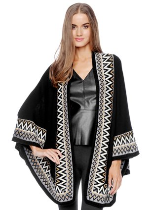 I love this cape by Ella Moss. I wore it all over France last year and felt Tres Chic- and warm!